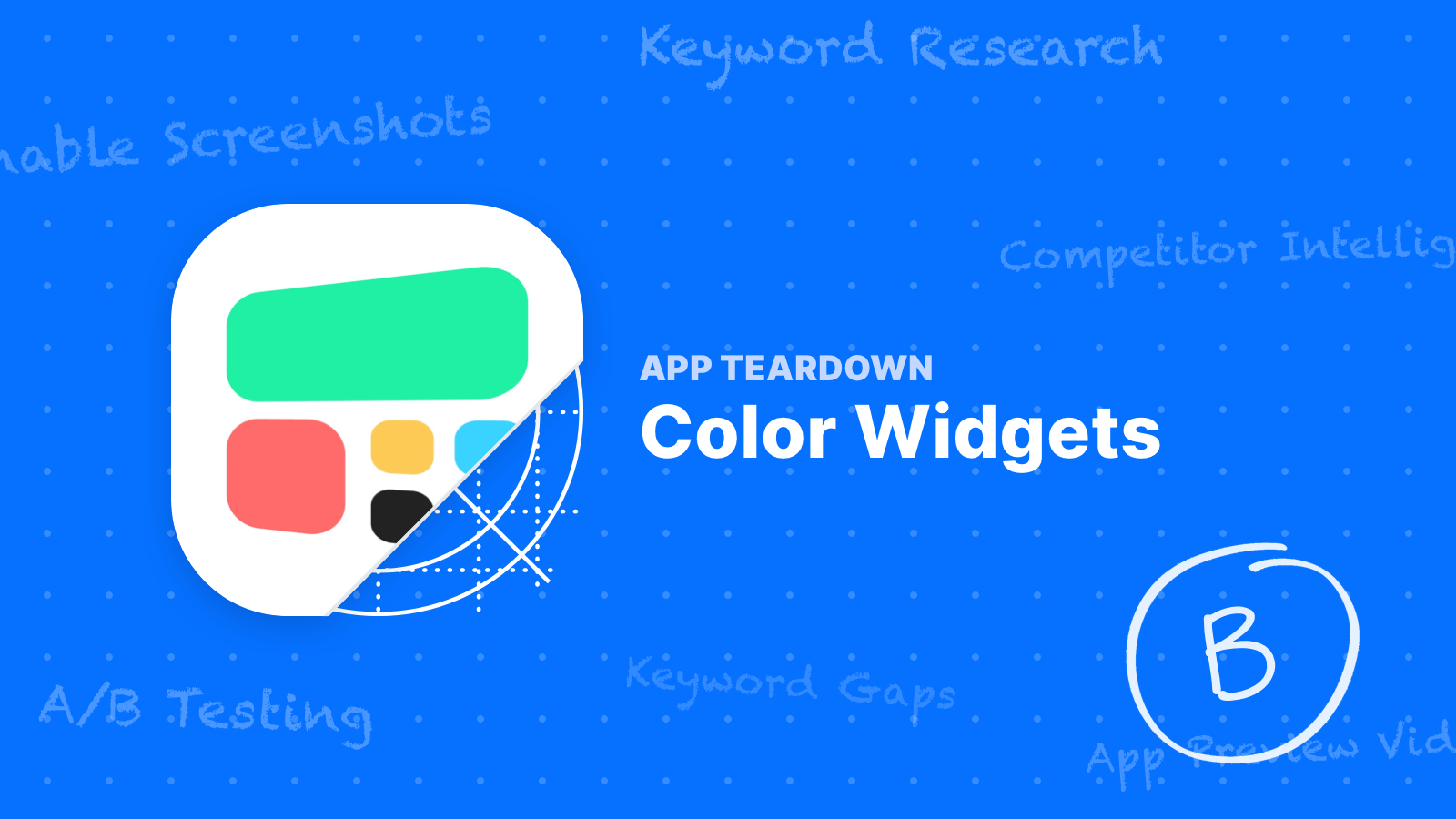 App Teardown - Color Widgets Has Some Opportunities
