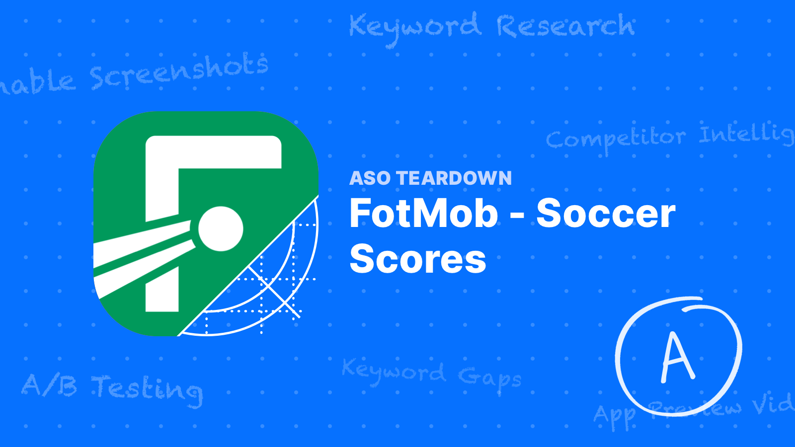 ASO Teardown: FotMob Takes the Lead with a Focused Keyword List