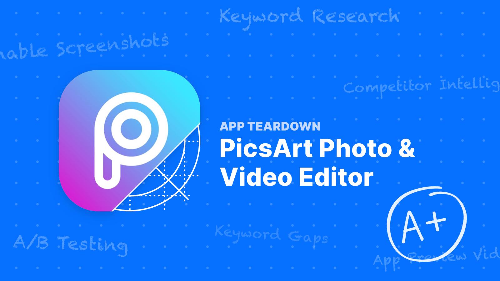 ASO Teardown: PicsArt Does A Wonderful Job Getting Downloads on the App Store