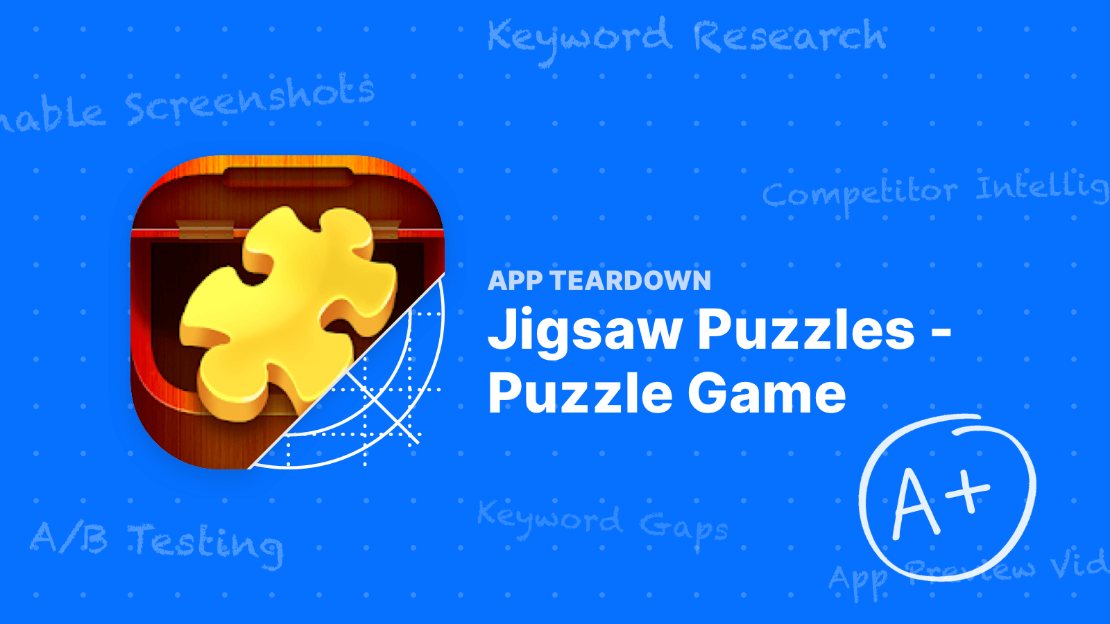 App Teardown: How the #1 Jigsaw Puzzle Game Uses ASO to Get Downloads on Google Play