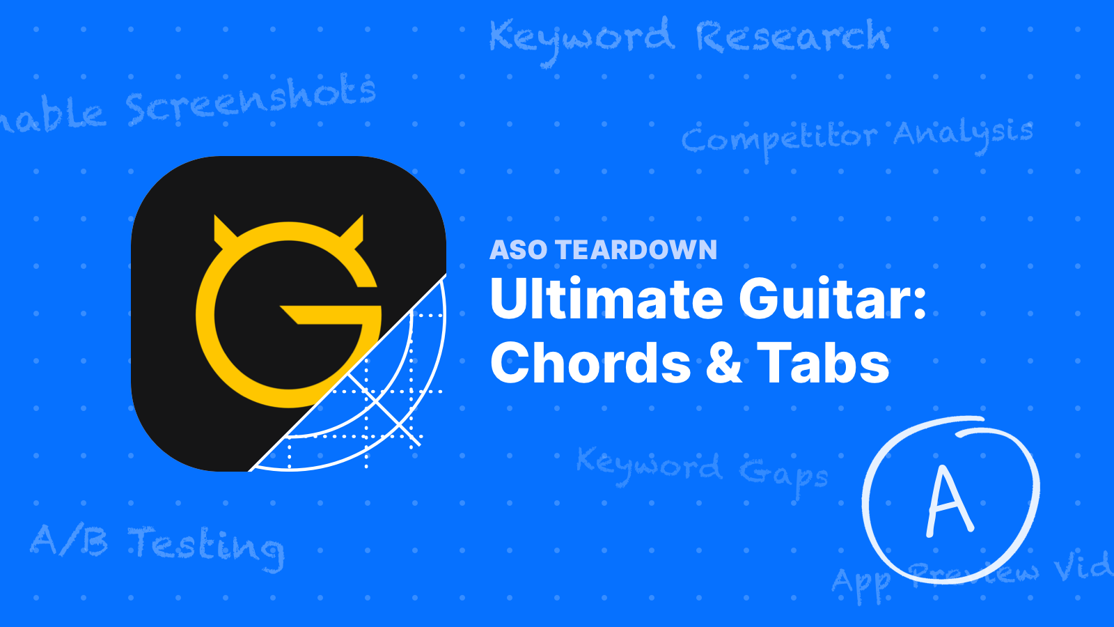 ASO Teardown: Ultimate Guitar Knows How to Optimize ✅